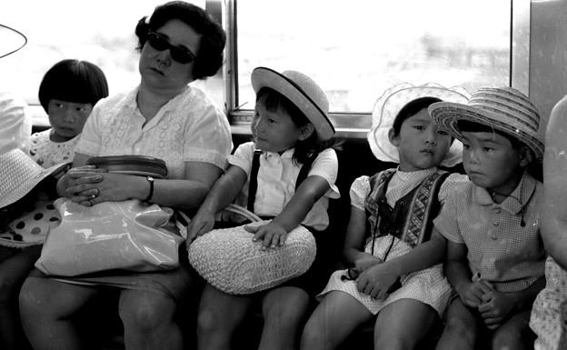 地下鉄車内 1970-#6