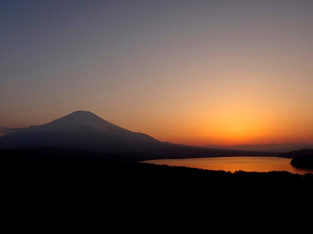 IMGP7193 朱に染まる山中湖