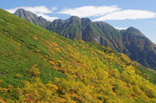 [2018年9月23日]西穂高岳から