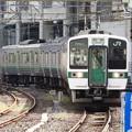 719系H-17+H2編成455M仙台4番入線