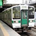 Photos: 719系H-21+?編成2547M小牛田行き仙台2番発車前