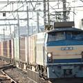 Photos: EF66 36牽引高速貨物3085レ雀宮接近!