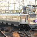 写真: EF510-510牽引8010レ寝台特急カシオペア雀宮3番通過