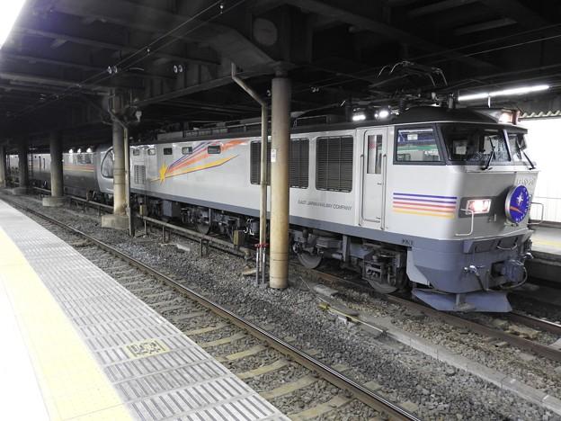 Photos: EF510-510牽引カシオペア号上野13番