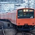 201系大阪環状線外回り天王寺入線