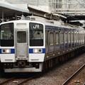 常磐線415系K539編成 勝田2番発車