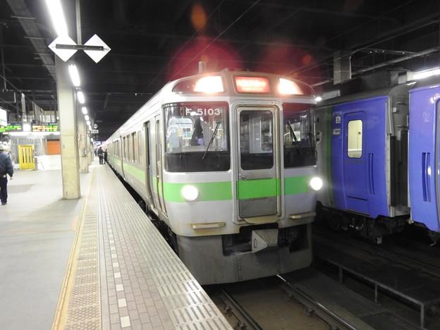 721系快速エアポート札幌6番
