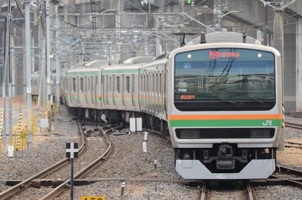E231系湘南新宿ライン快速宇都宮行き