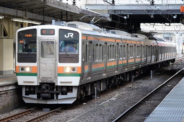 211系C4編成信越本線141M横川行き