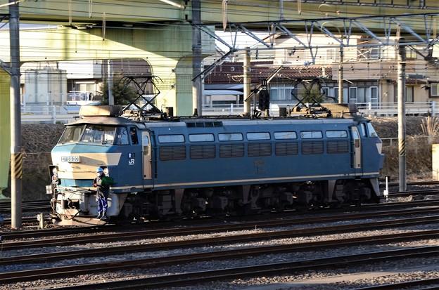EF66 30号機宇都宮貨物(タ)構内入換え