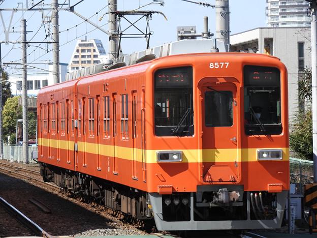 東武亀戸線8577F(昭和30年代車両再現塗装)