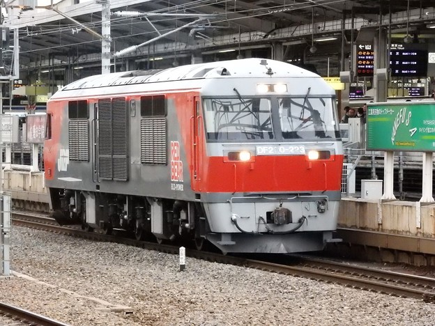 DF200 223単機8072レ名古屋通過
