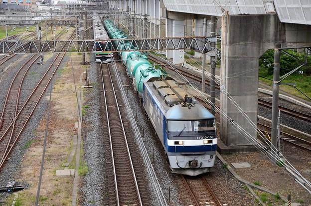 EF210-152号機牽引タキ貨物