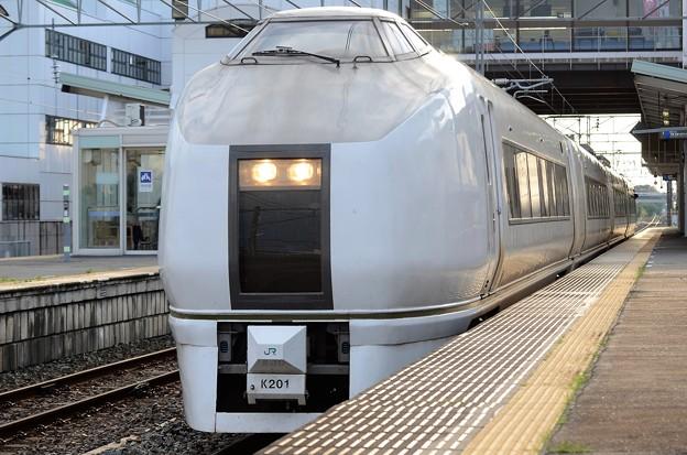 Photos: 651系K201編成臨時快速足利大藤まつり号結城発車