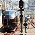 写真: E655系「和(なごみ)」団臨上野16番発車