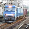 写真: EH200-19号機牽引6082レ長岡通過