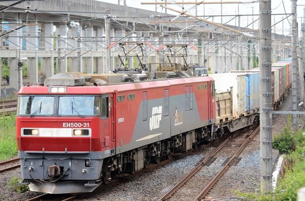 EH500-31牽引3050レ宇都宮貨物(タ)入線