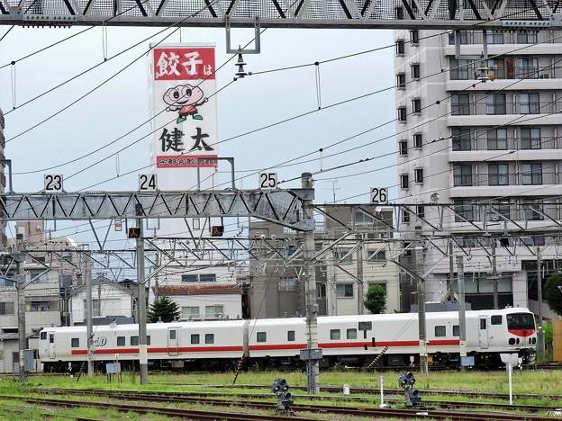 宇都宮餃子とキヤE193系East i-D