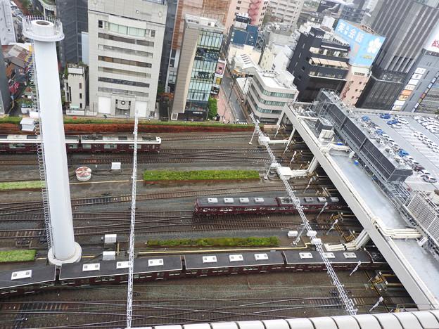 阪急梅田駅俯瞰