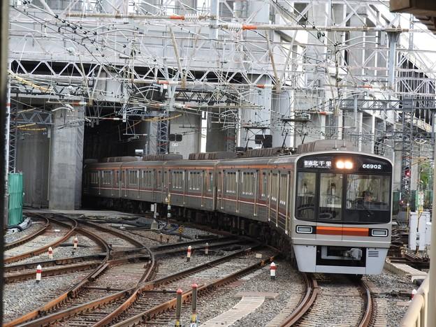 阪急淡路駅平面交差1