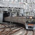 写真: 阪急淡路駅平面交差1