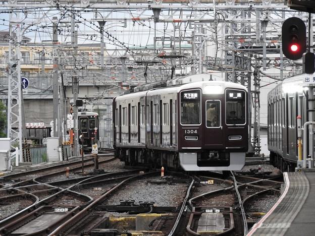 阪急淡路駅平面交差4