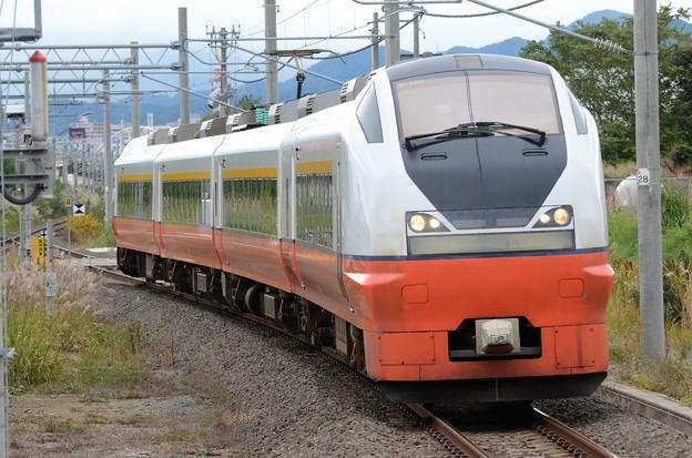 E751系特急つがる4号新青森入線
