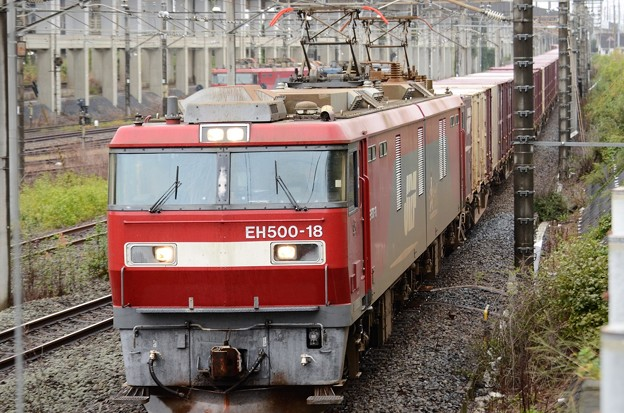 EH500-18牽引94レ宇都宮貨物(タ)通過