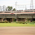 Photos: 思川橋梁を渡る東武6050系