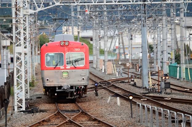 Photos: 上毛電鉄700形中央前橋行き赤城接近