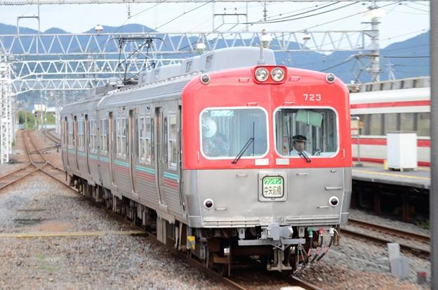 上毛電鉄700形中央前橋行き赤城2番入線