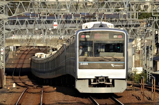 小田急3000形急行新宿行き
