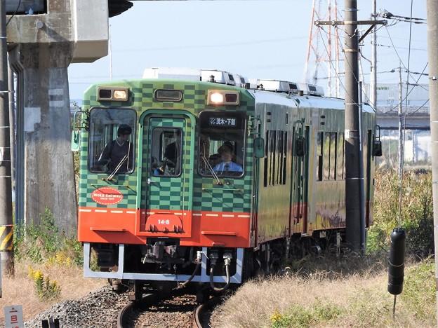 真岡鐡道モオカ14形2両編成