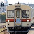 Photos: 関東鉄道キハ317+キハ318臨時列車