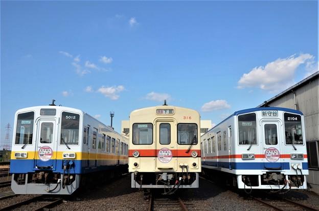 関東鉄道新守谷行き&快速下館行き