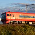 赤い特急電車