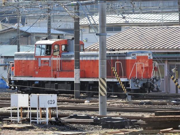 Photos: 尾久のDE10 1704号機