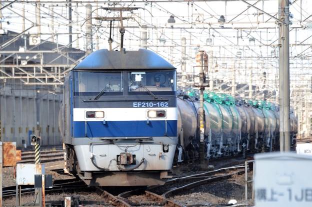 桃太郎162号機牽引石油返空8586レ宇都宮貨物(タ)発車
