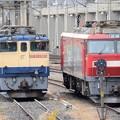 EF65 2065とEH500-62の並び