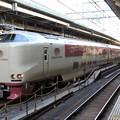 Photos: 遅れのサンライズ回送東京8番発車