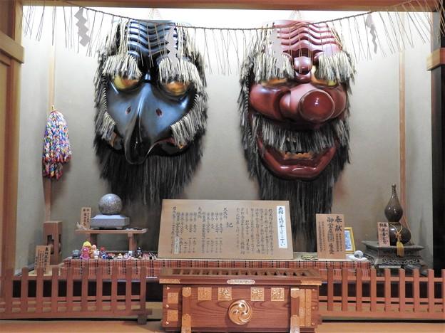 古峯神社の大天狗・烏天狗
