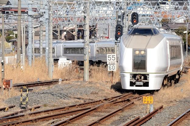 651系K103編成成田山初詣常磐号