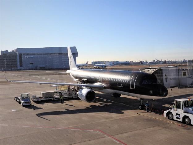 輝く黒い機体