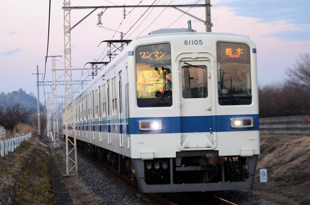 東武宇都宮線最後の8000系81105F