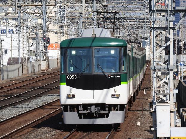 京阪6000系普通中之島行き