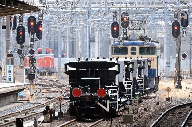 EF65 シキ DE10