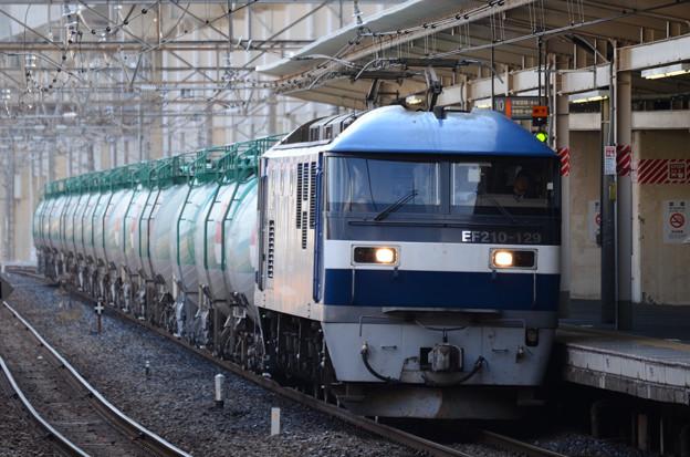 EF210-129号代走牽引4091レ