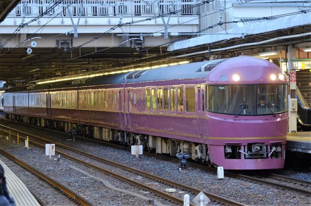 Photos: 485系「宴」団臨 夕刻の大宮11番発車