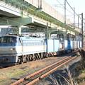 EF66-121号機牽引4093レ宇都宮貨物(タ)入線