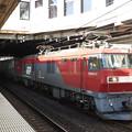 Photos: 金太郎57号機牽引トヨタロングパスエクスプレス遅れの4051レ小山11番発車